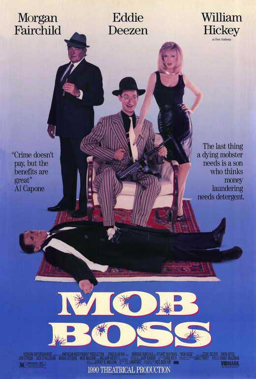 affiche du film Mob Boss