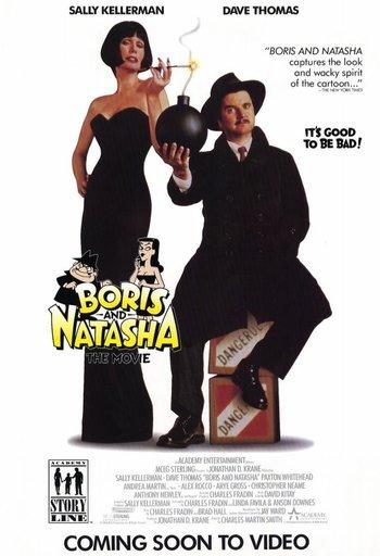 affiche du film Boris and Natasha (TV)