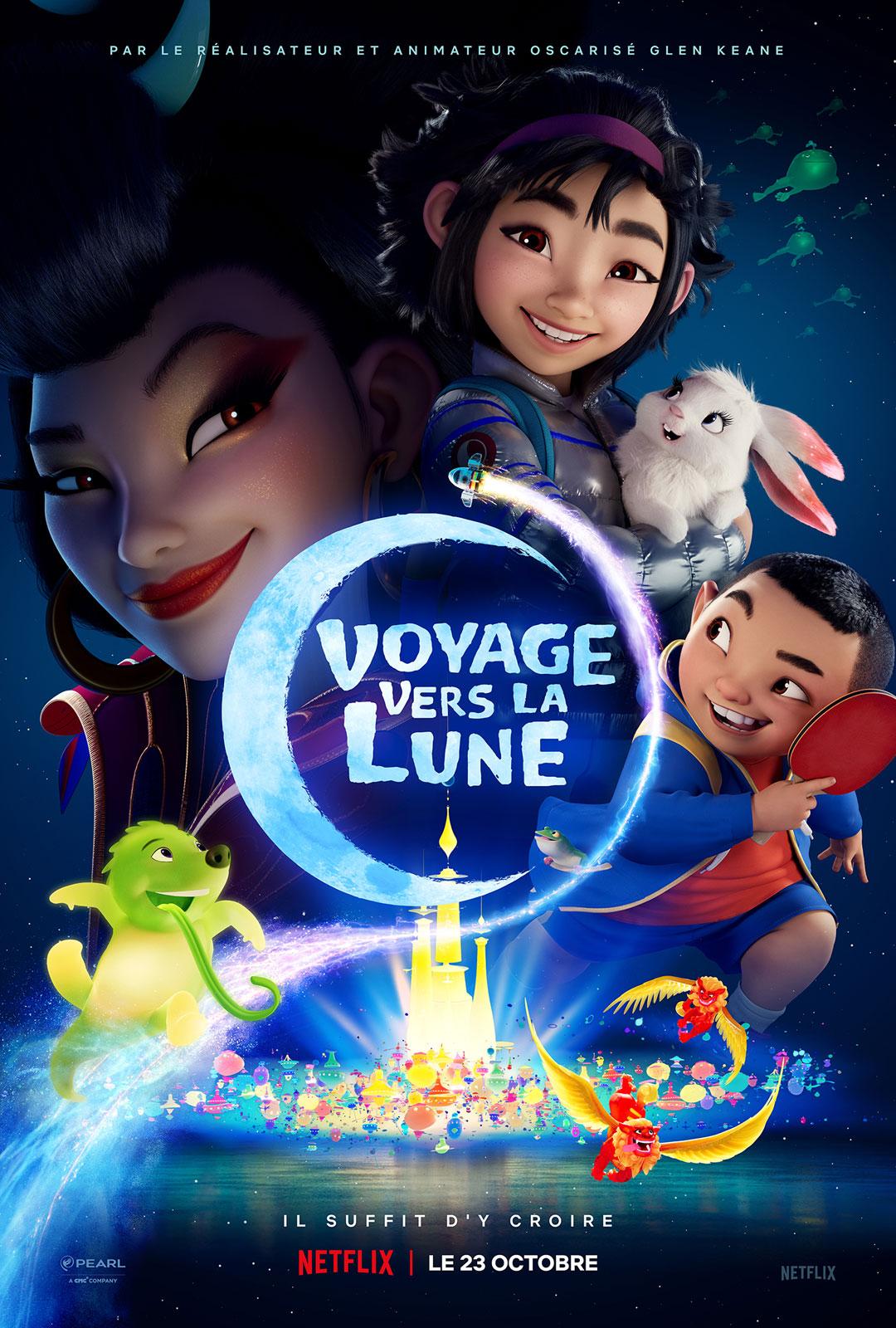 affiche du film Voyage vers la Lune