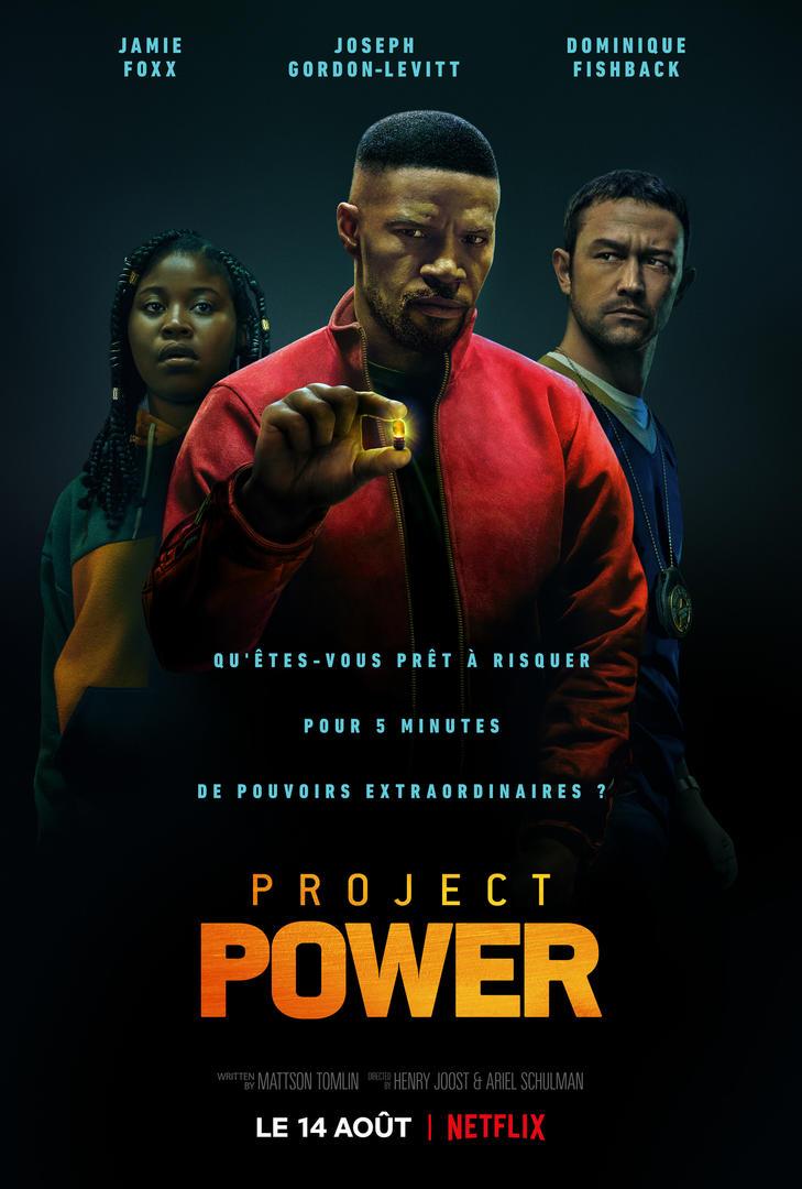 affiche du film Project Power