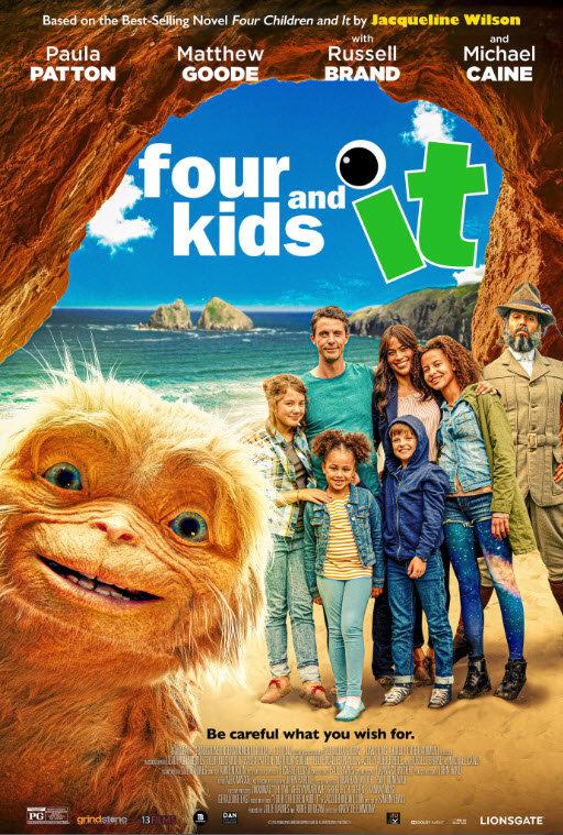 affiche du film Four Kids and It