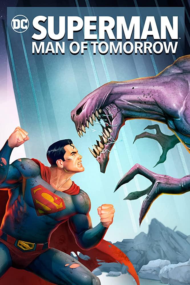 affiche du film Superman: Man of Tomorrow