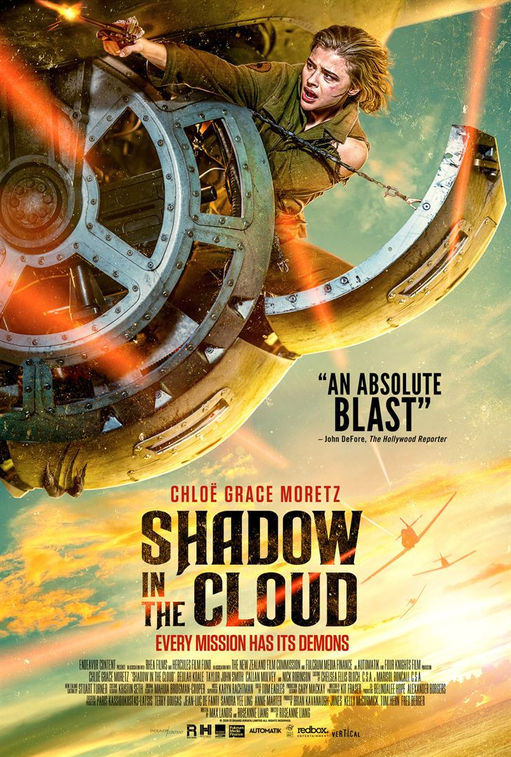 affiche du film Shadow in the Cloud