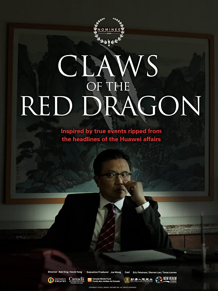 affiche du film Claws of the Red Dragon