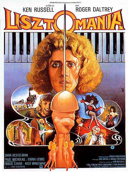 affiche du film Lisztomania