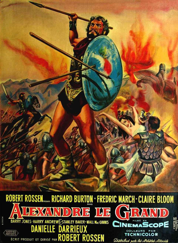 affiche du film Alexandre le Grand