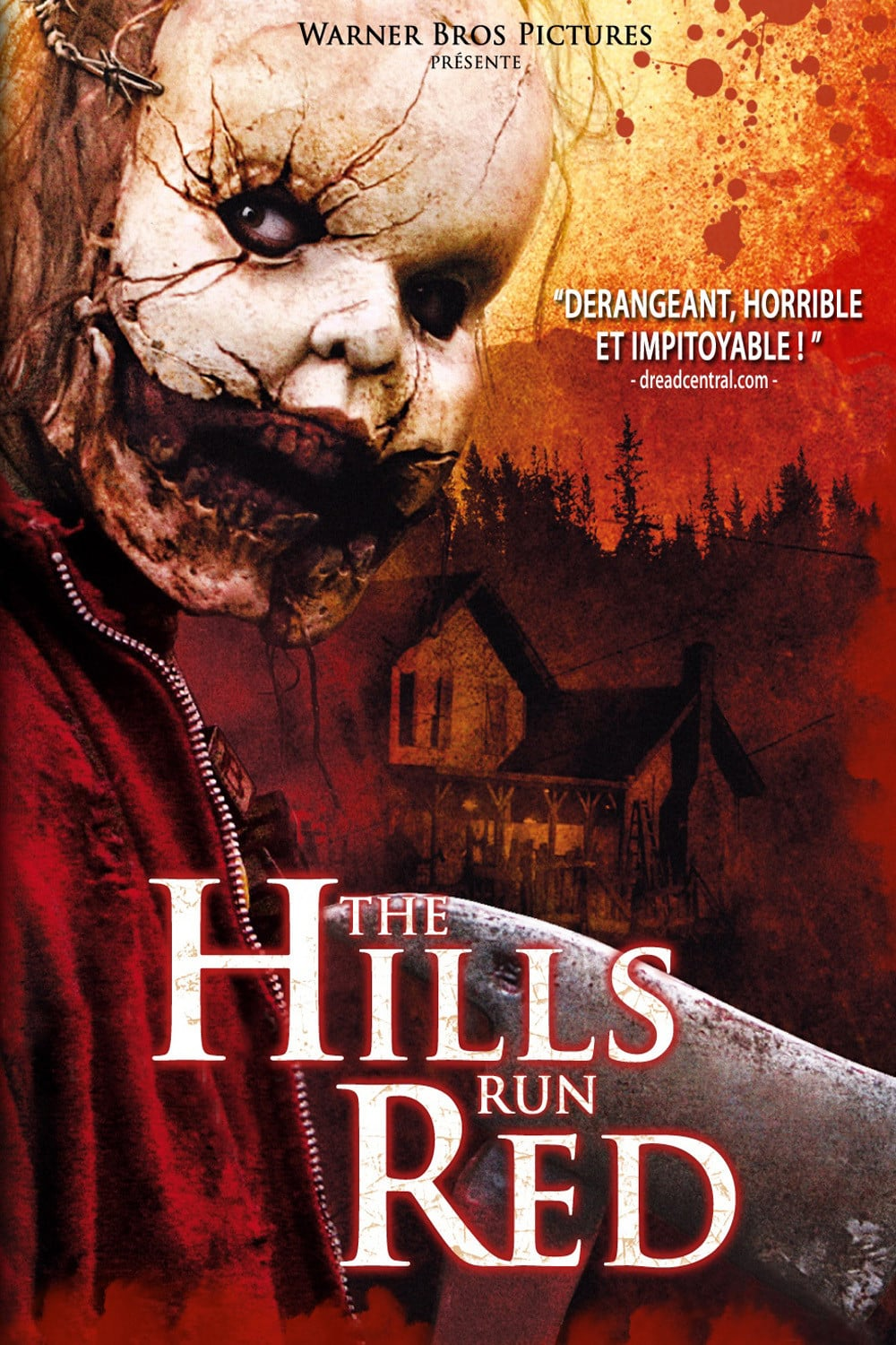 affiche du film The Hills Run Red