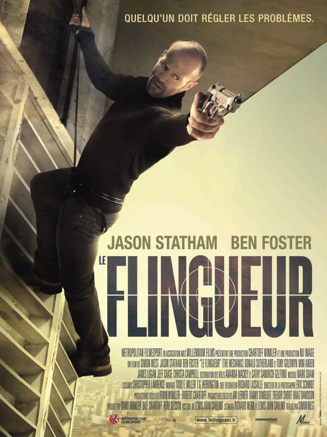 affiche du film Le flingueur (2011)