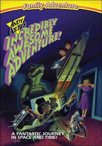 affiche du film Andy Colby's Incredible Adventure