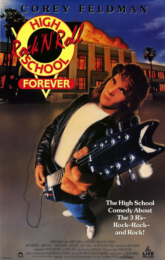 affiche du film Rock 'n' Roll High School Forever