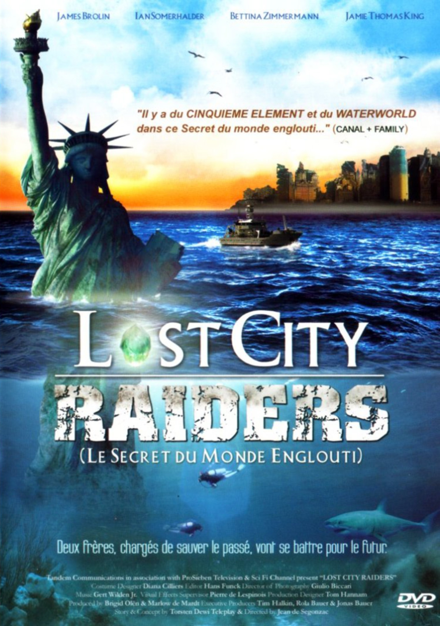 Lost City Raiders : Le secret du monde englouti (TV)