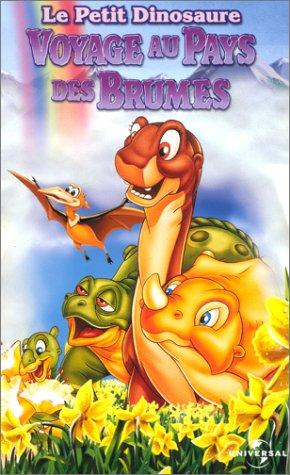 affiche du film Le Petit Dinosaure : Voyage au pays des brumes