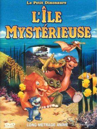 affiche du film Le Petit Dinosaure : L'Île mystérieuse
