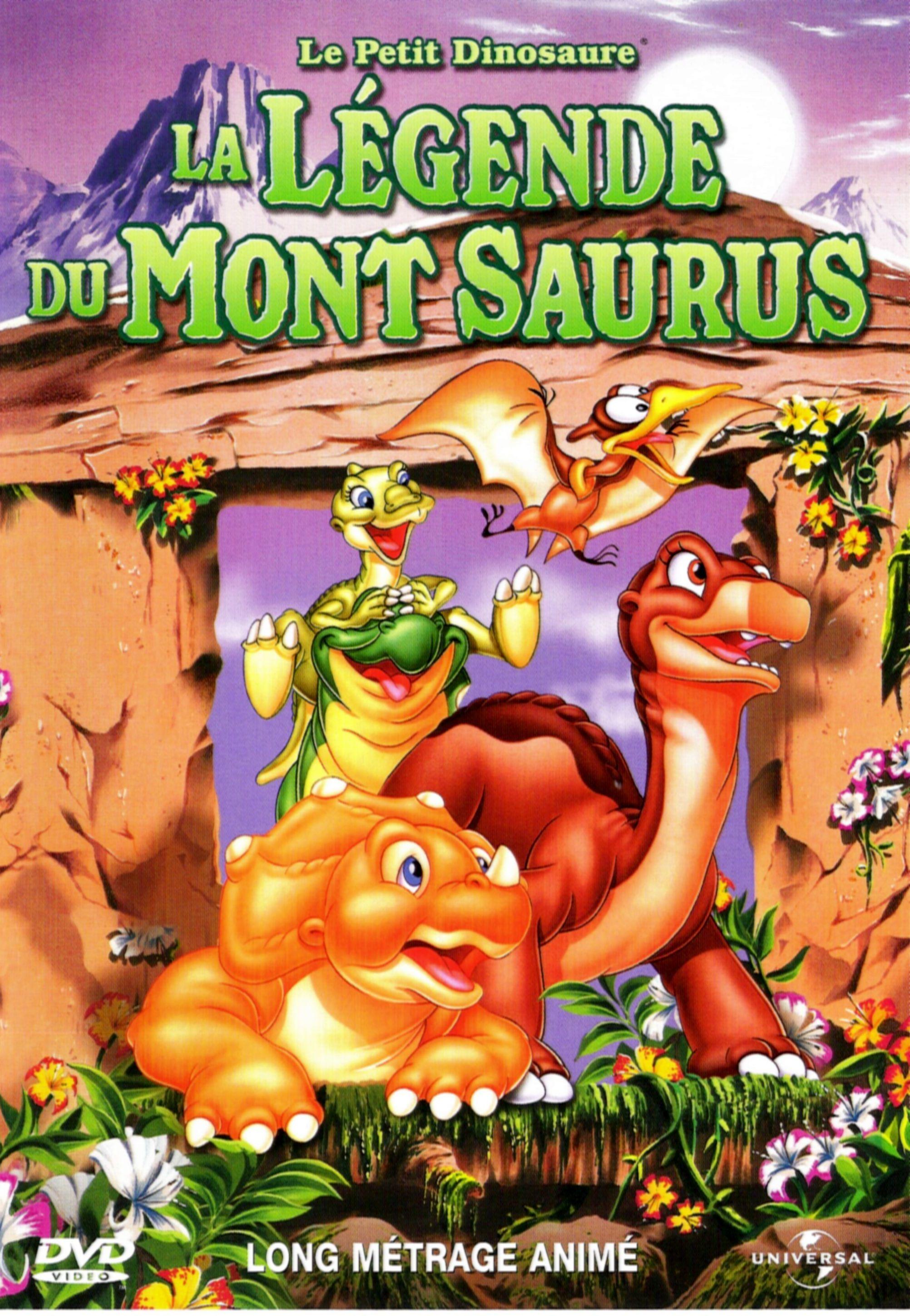 affiche du film Le Petit Dinosaure : La Légende du mont Saurus
