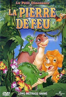 affiche du film Le Petit Dinosaure : La Pierre de feu