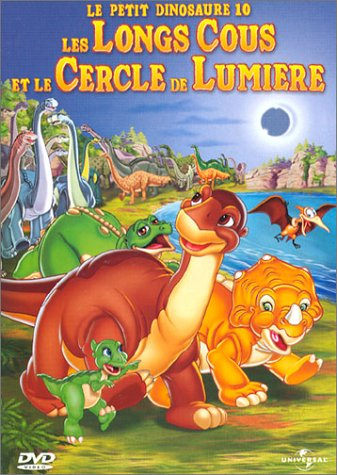 affiche du film Le Petit Dinosaure : Les Longs-Cous et le Cercle de Lumière
