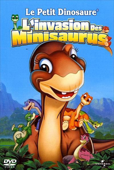affiche du film Le Petit Dinosaure : L'Invasion des Minisaurus