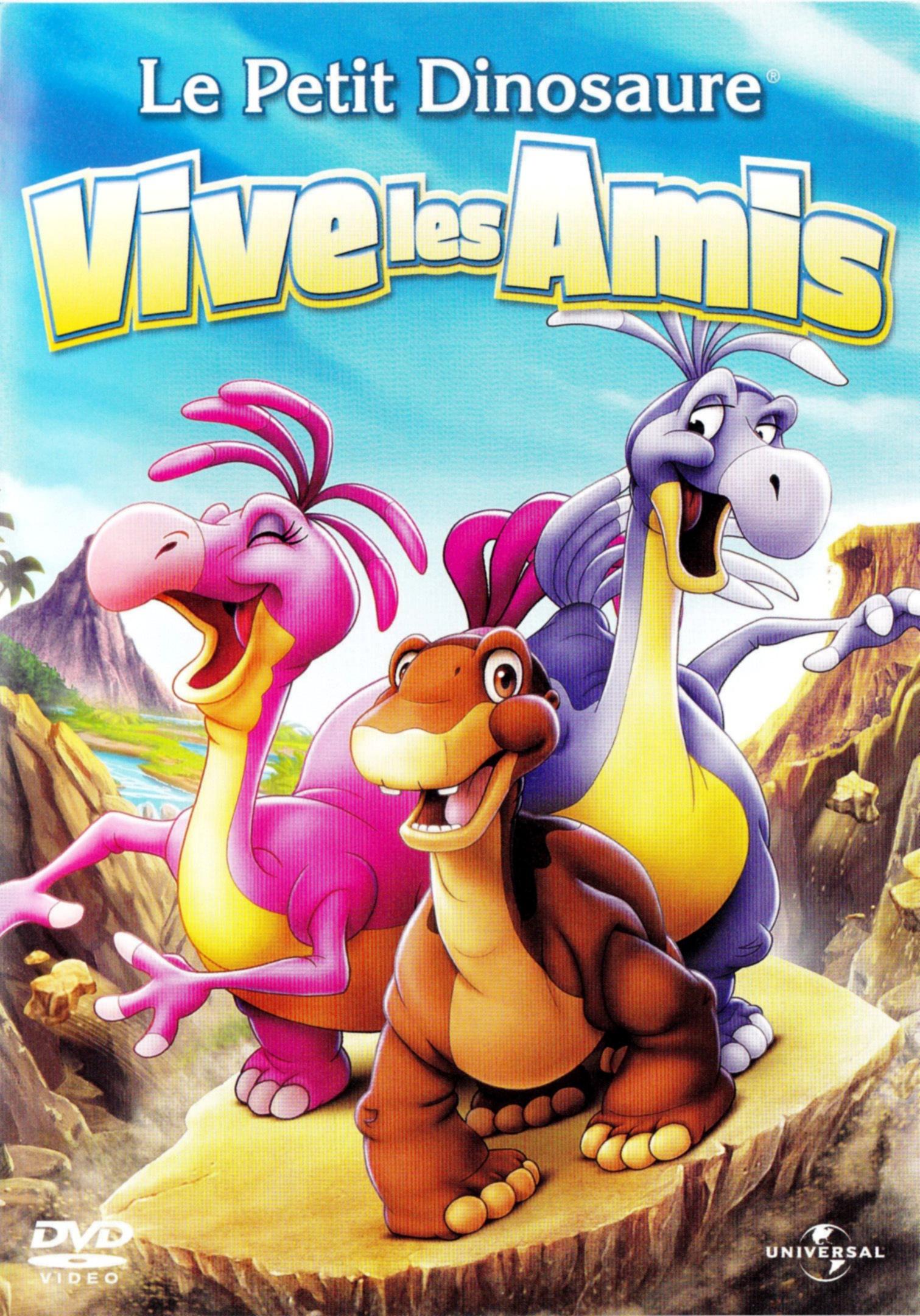 affiche du film Le Petit Dinosaure : Vive les amis