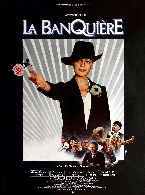 affiche du film La banquière