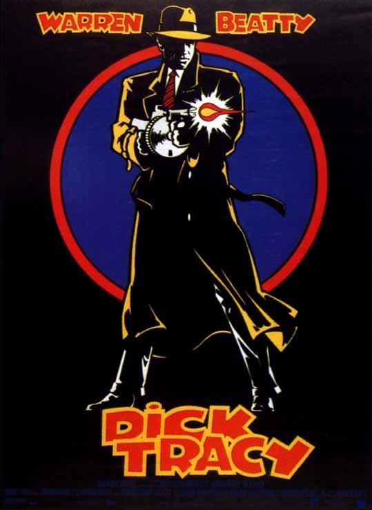 affiche du film Dick Tracy