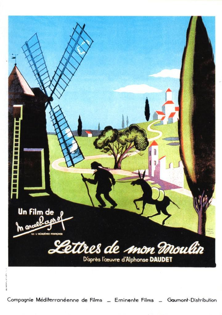 affiche du film Les lettres de mon moulin
