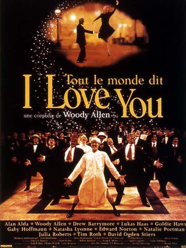 affiche du film Tout le monde dit I Love You