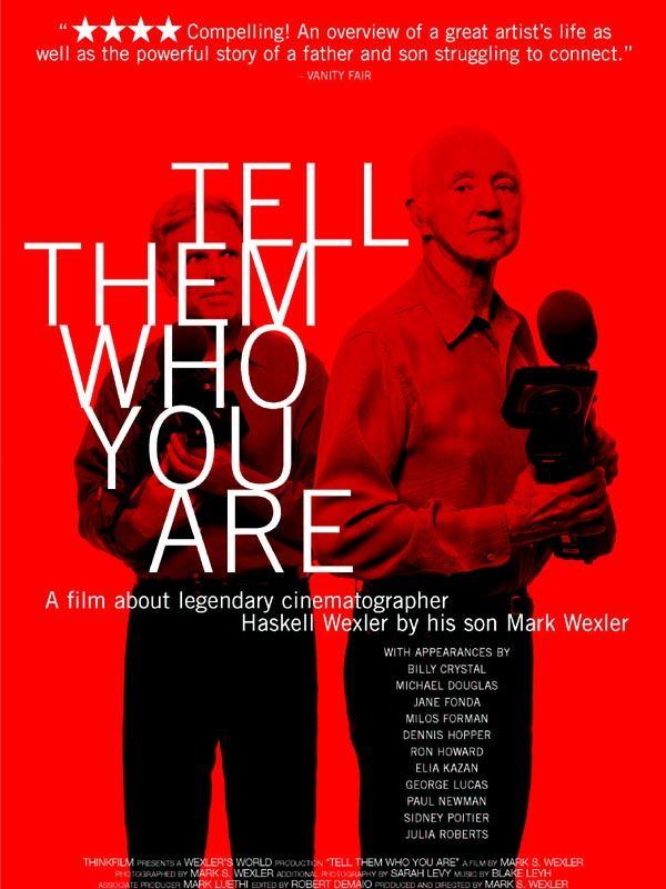 affiche du film Tell Them Who You Are