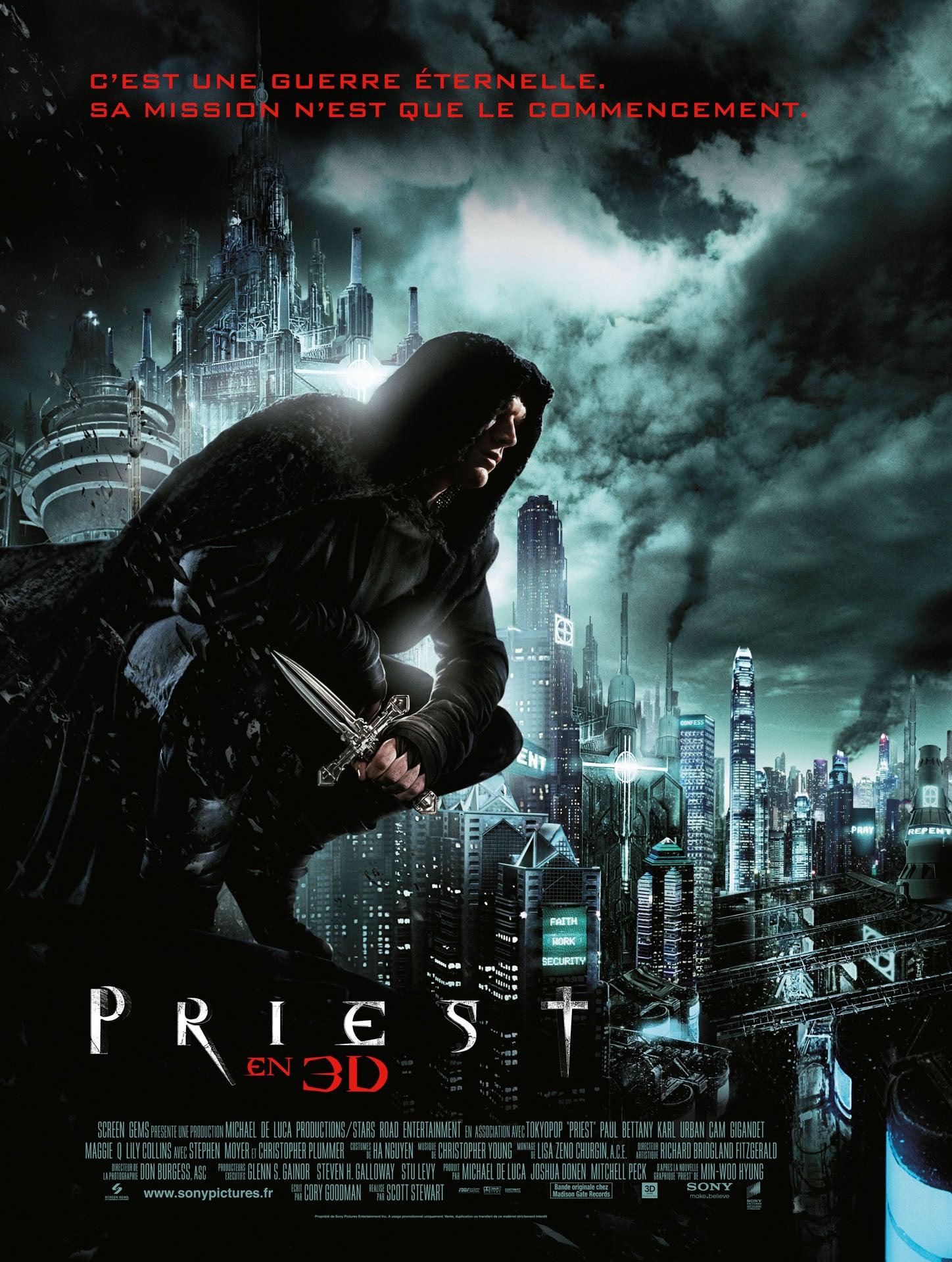 affiche du film Priest (2011)