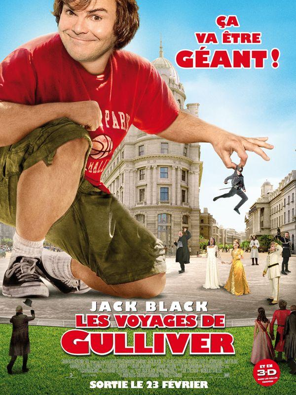 affiche du film Les voyages de Gulliver (2010)