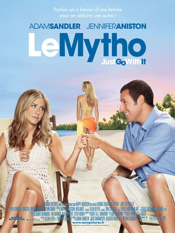 affiche du film Le Mytho : Just Go with It