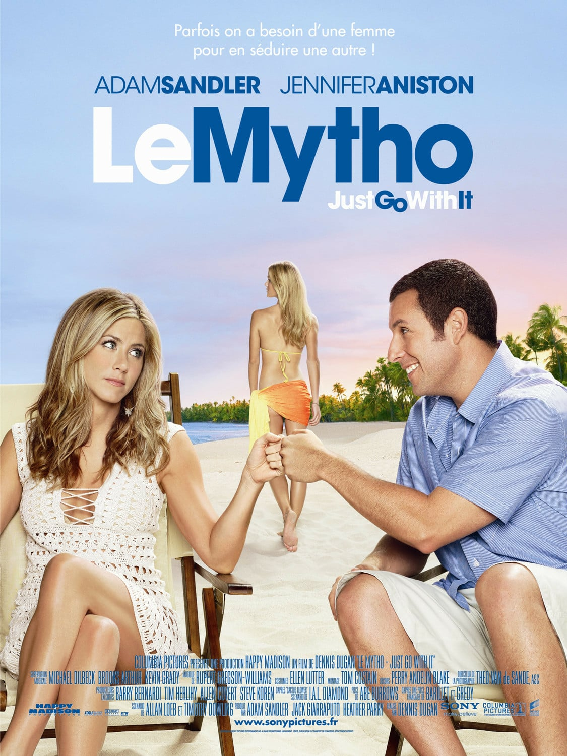 affiche du film Le mytho: Just Go with It
