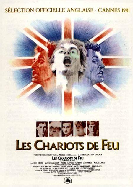 affiche du film Les Chariots de feu
