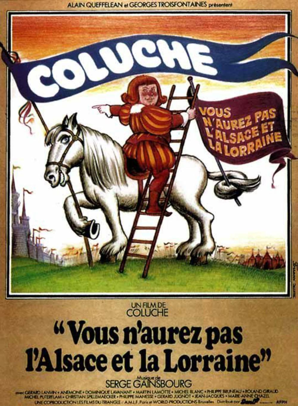 affiche du film Vous n'aurez pas l'Alsace et la Lorraine