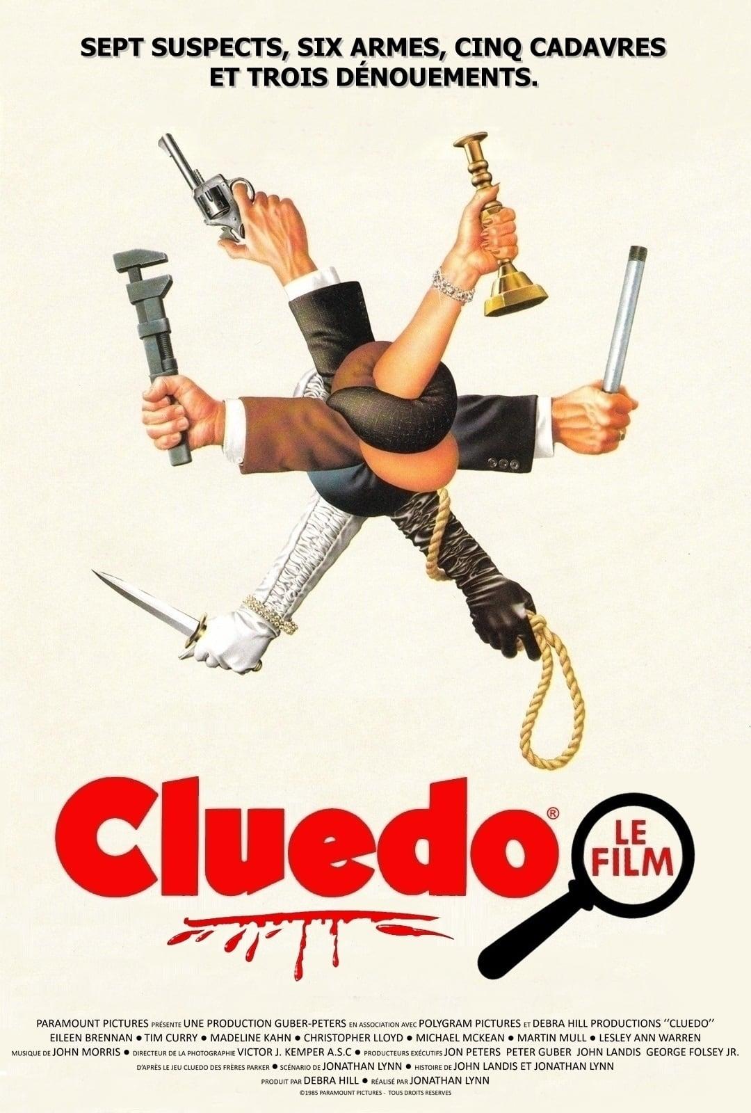 affiche du film Cluedo