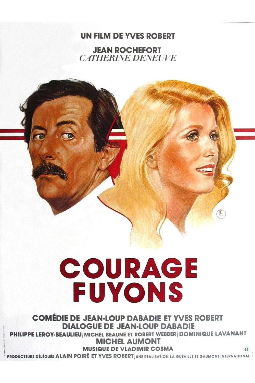 affiche du film Courage, fuyons