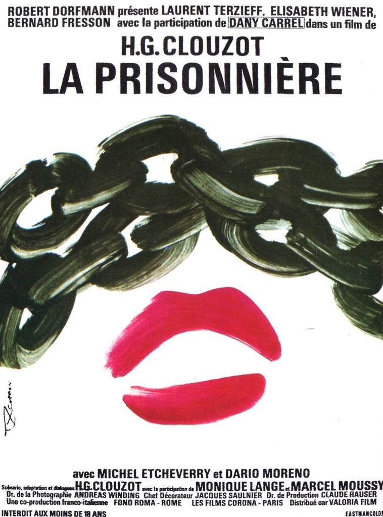 affiche du film La prisonnière