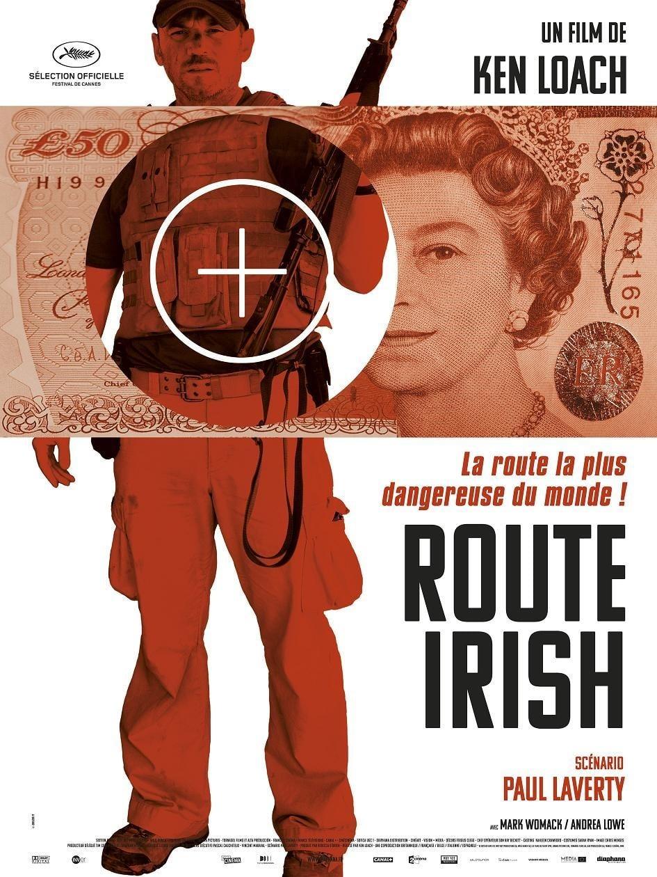 affiche du film Route Irish