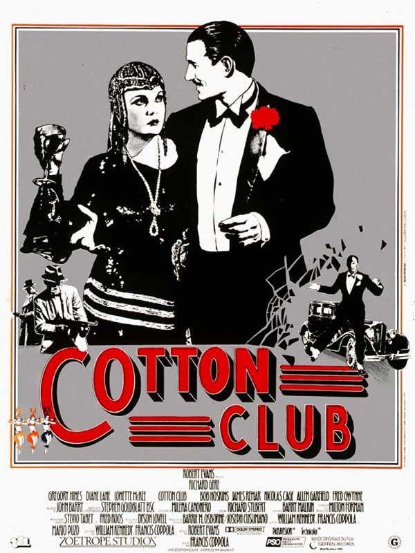 affiche du film Cotton Club