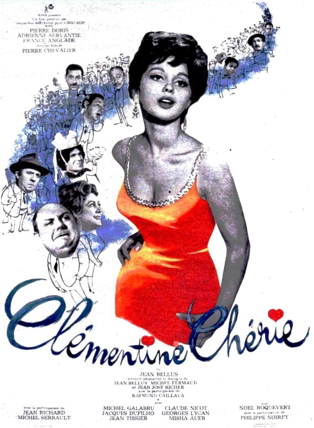affiche du film Clémentine chérie