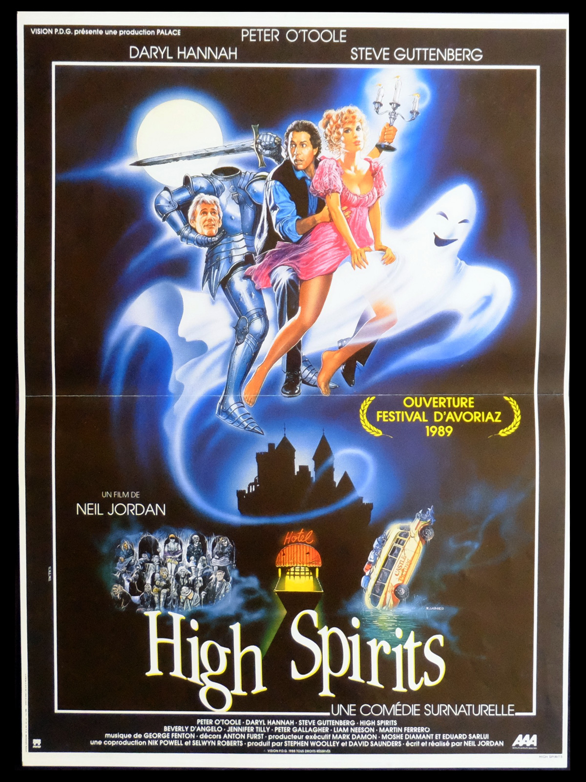 affiche du film High Spirits