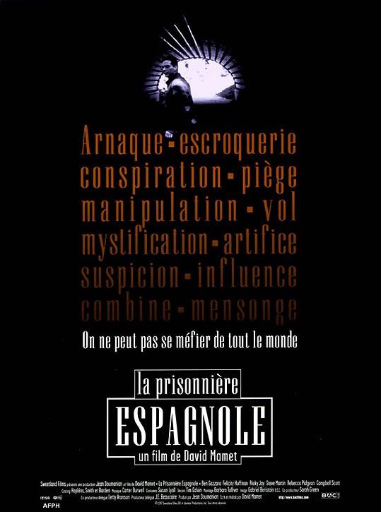affiche du film La prisonnière espagnole