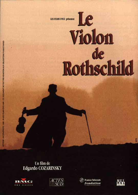 affiche du film Le violon de Rothschild