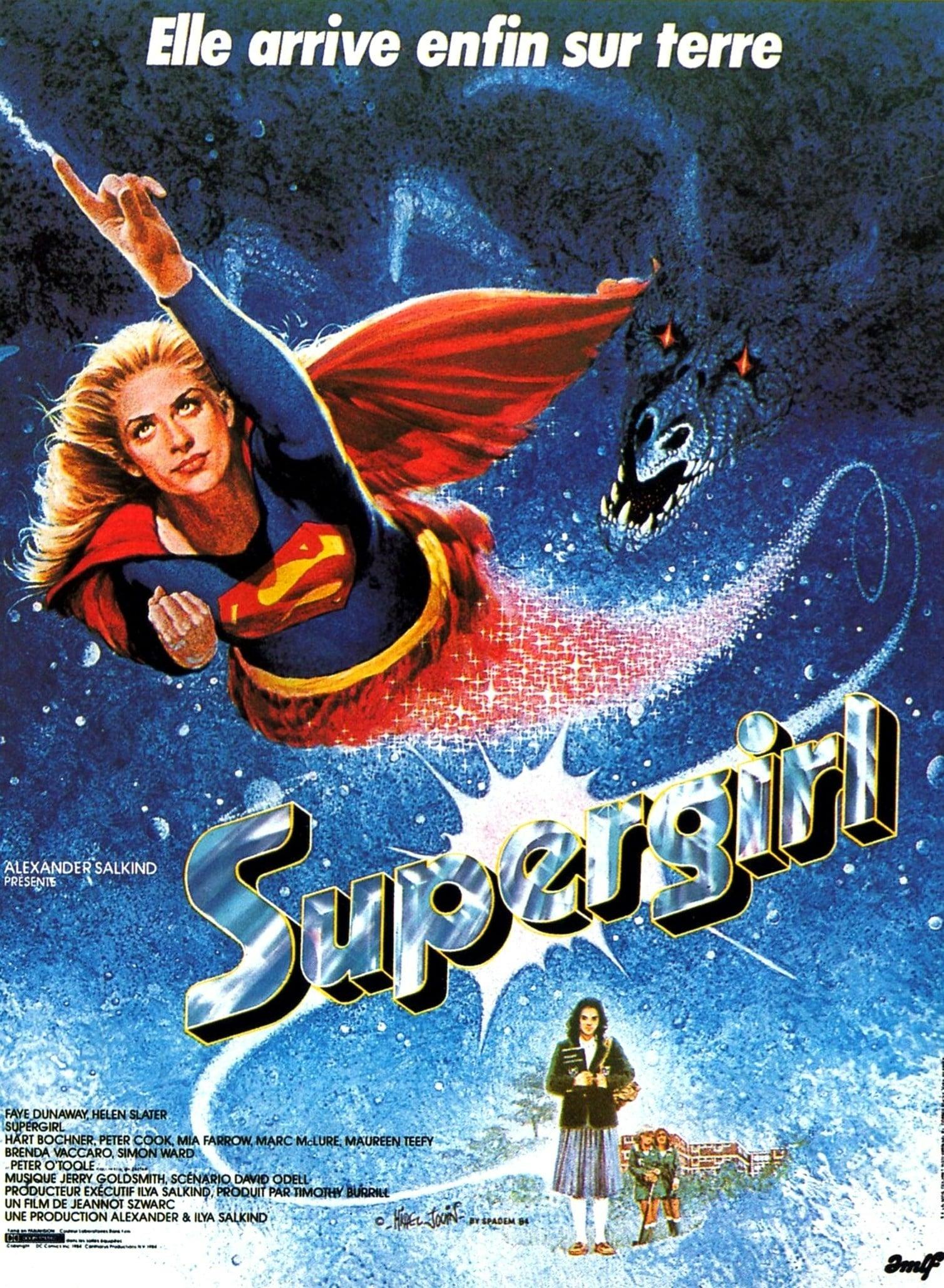 affiche du film Supergirl