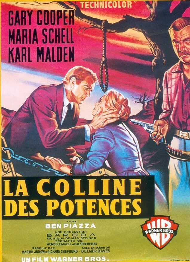 affiche du film La colline des potences