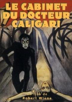 affiche du film Le cabinet du docteur Caligari (1920)