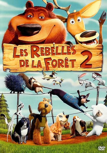 affiche du film Les rebelles de la forêt 2