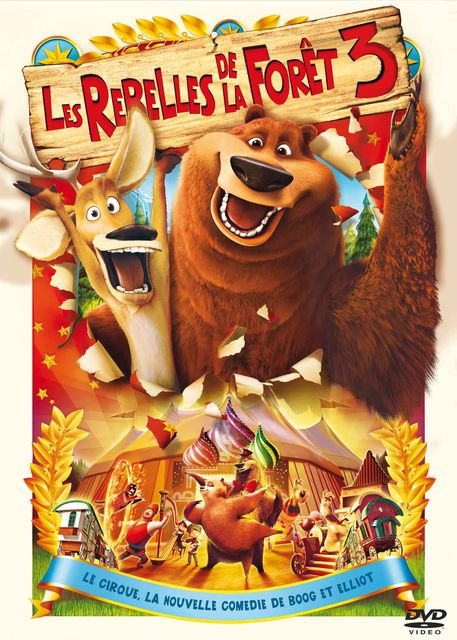 affiche du film Les rebelles de la forêt 3