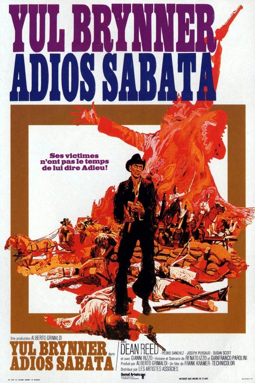 affiche du film Adios Sabata