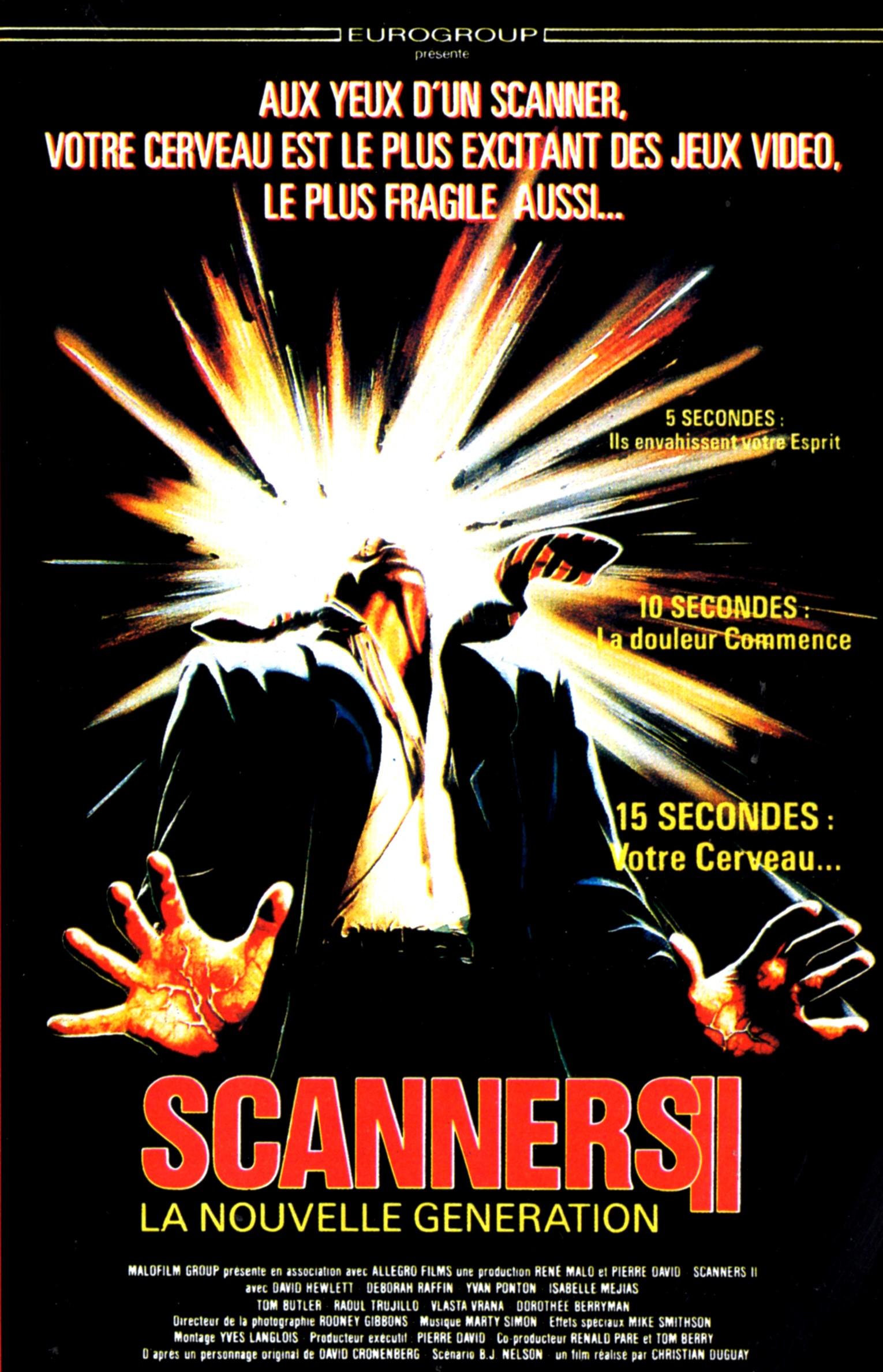 affiche du film Scanners II: La nouvelle génération