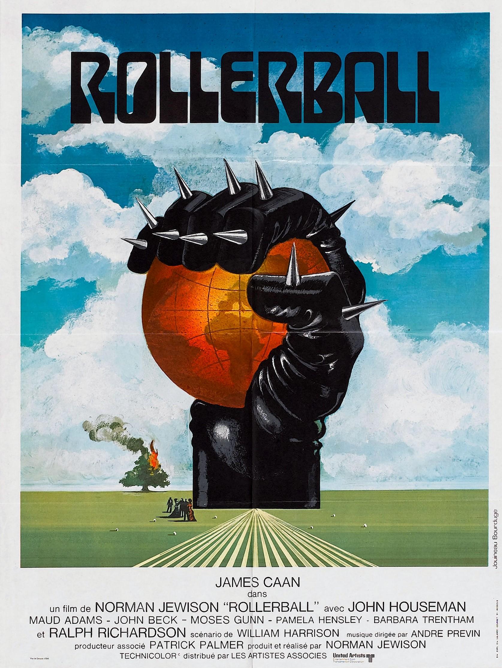 affiche du film Rollerball (1975)